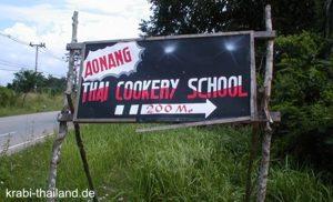 Kochschule in Krabi