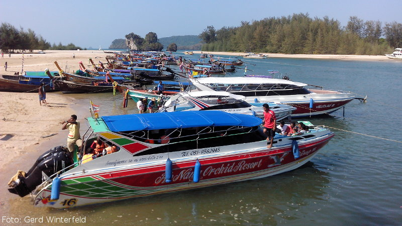 Speed Boat Touren in Krabi
