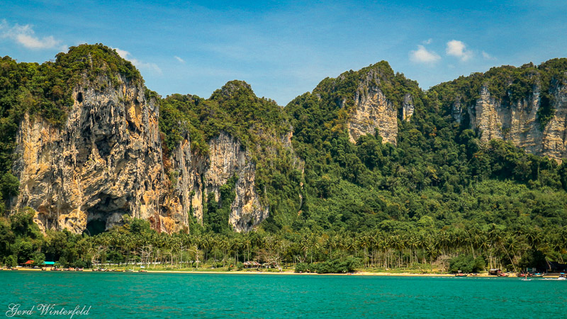 Der Tonsai Beach bei Krabi in Thailand