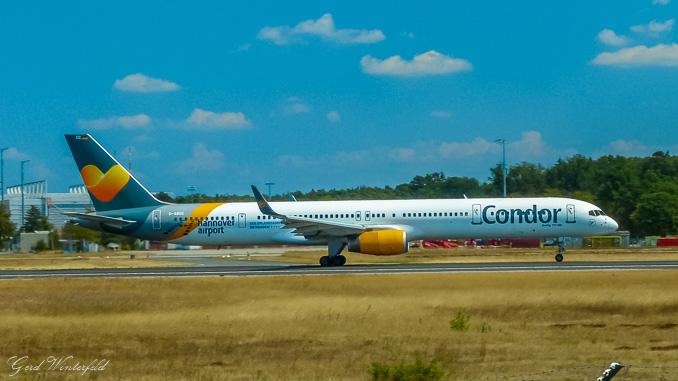 Boeing 757 der Condor