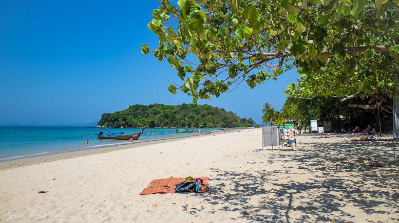 Der Klong Muang Beach bei Krabi