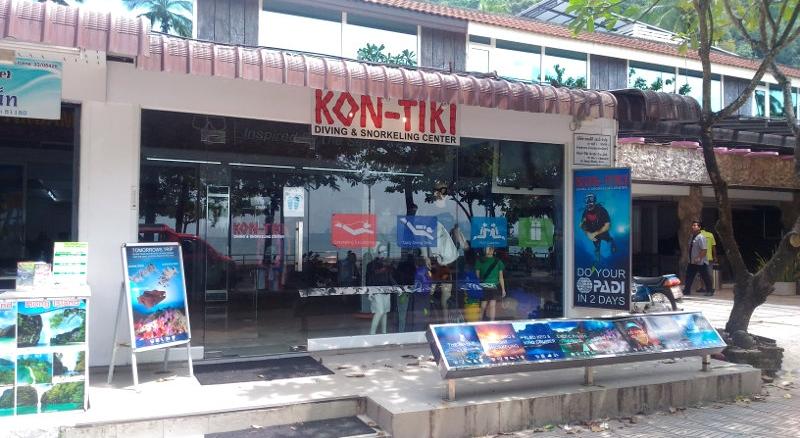 Kon Tiki Dive Center, Ao Nang
