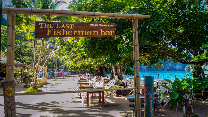 Die Last Fisherman Bar am Ao Nang Strand