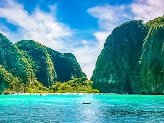 Die berühmte Maya Bay auf Koh Phi Phi