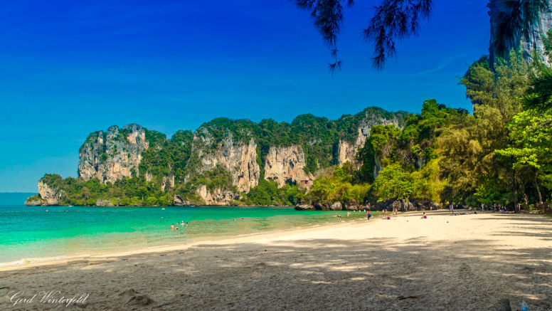 Der Railay Beach, 2018